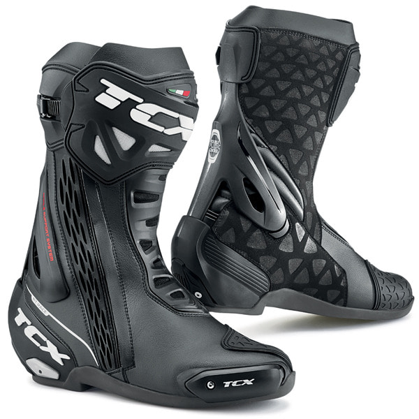 TCX RT-RACE BOOTS (BLACK)