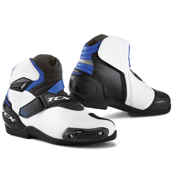 TCX ROADSTER 2 AIR BOOTS (WHITE/BLACK/BLUE)
